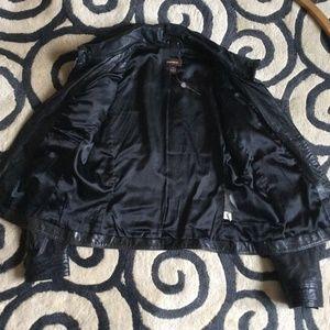 Danier Jackets & Coats - Danier tailored-style moto/biker jacket black M